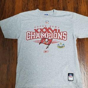 Buccaneers Super Bowl T shirts